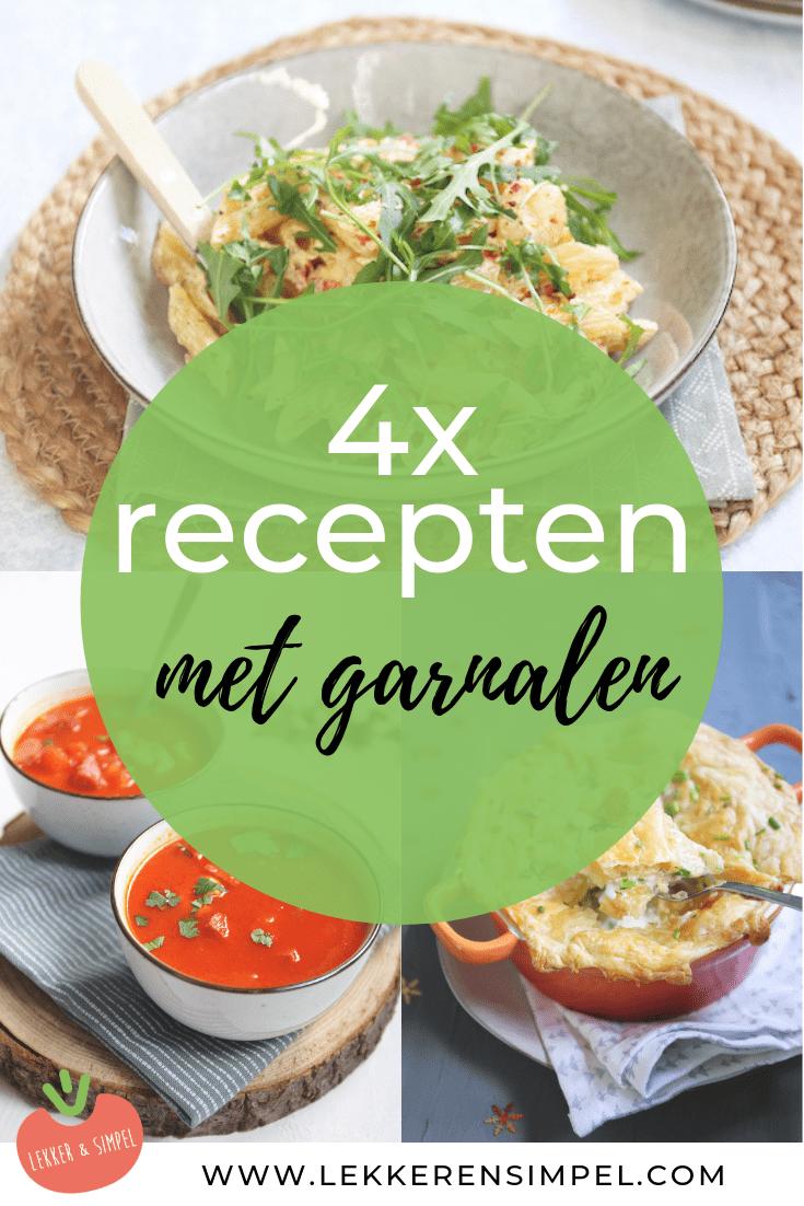 4x recepten met garnalen
