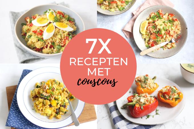 7x recepten met couscous