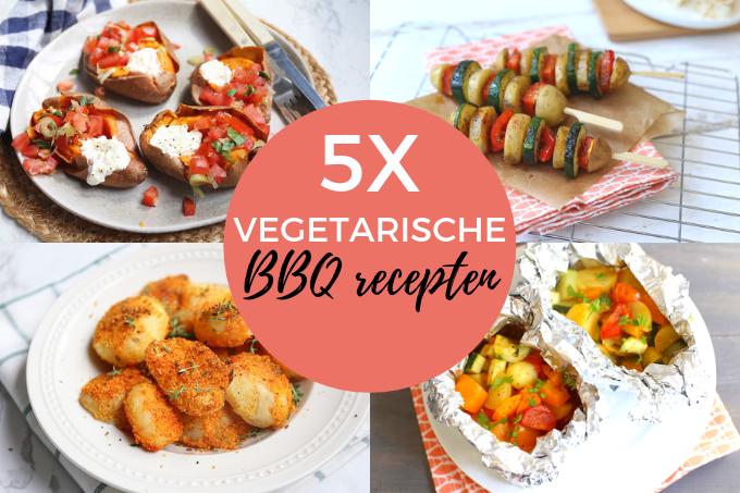 5x vegetarische BBQ recepten