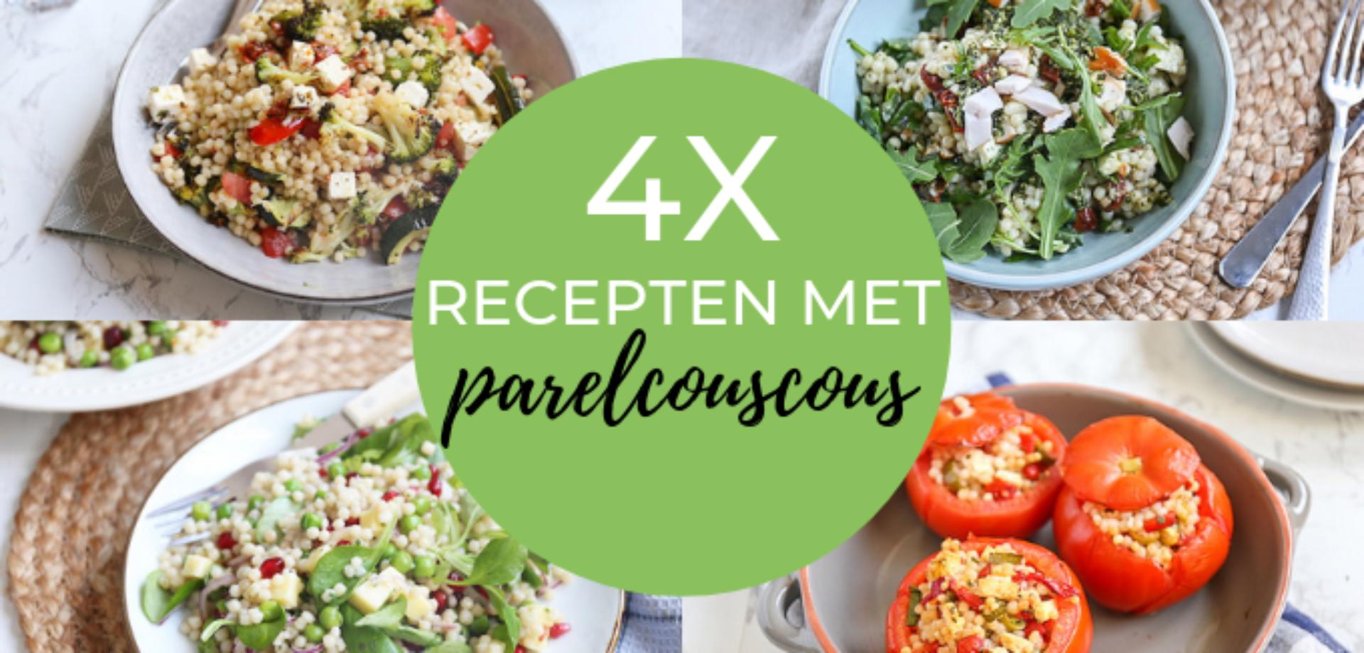 4x recepten met parelcouscous
