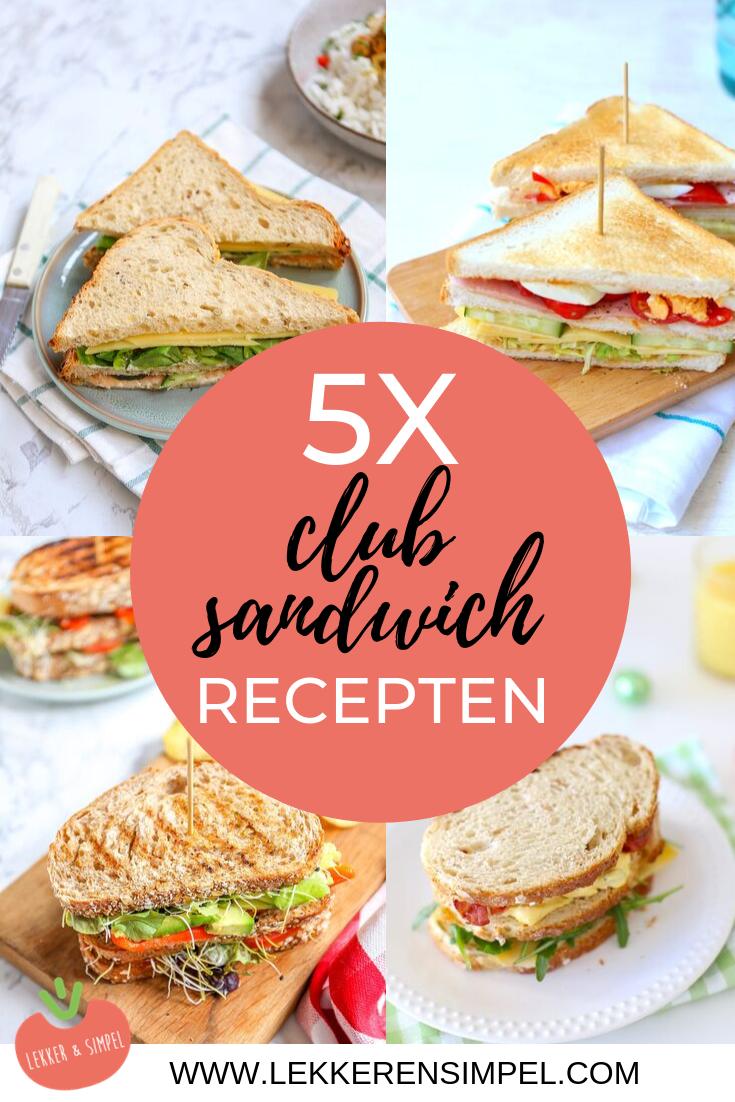 5x club sandwich recepten