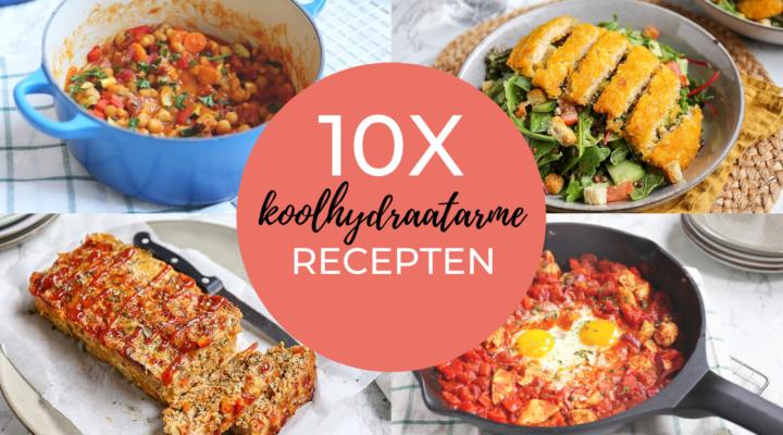10x koolhydraatarm recept