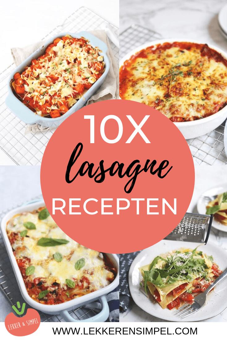 10x lasagne recepten