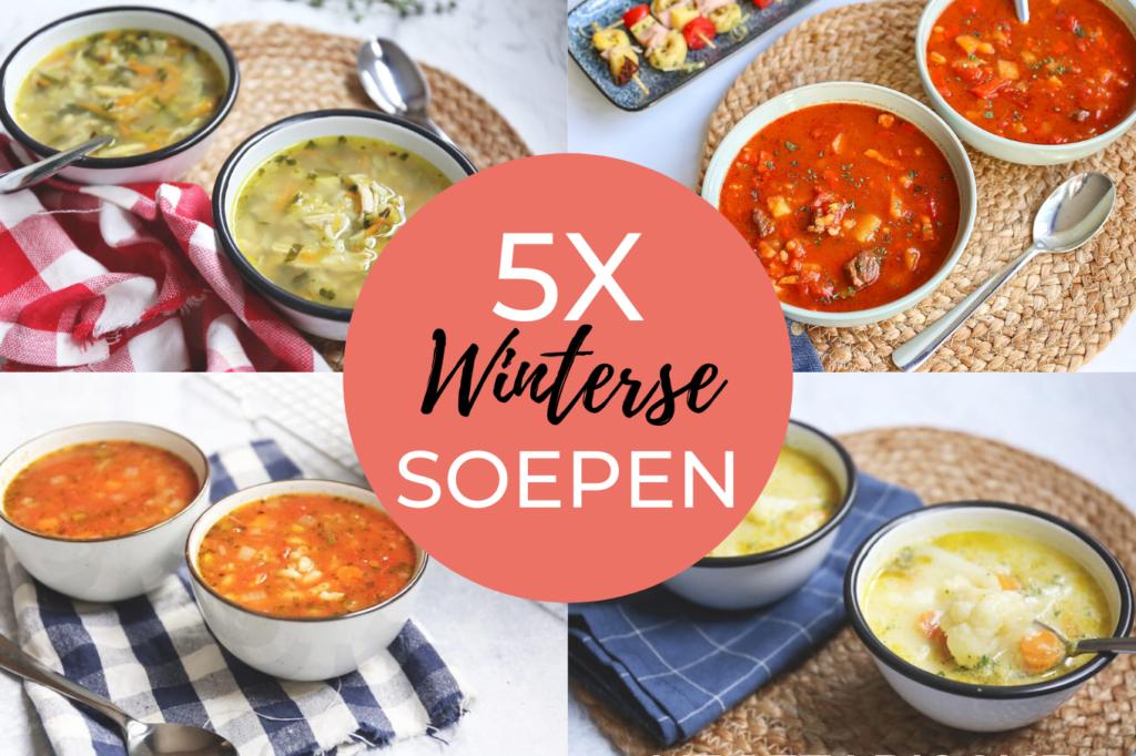 5x winterse soepen
