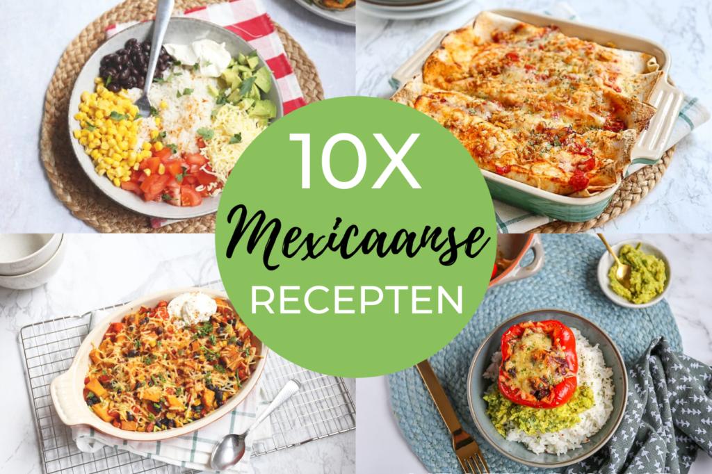 10x Mexicaanse recepten