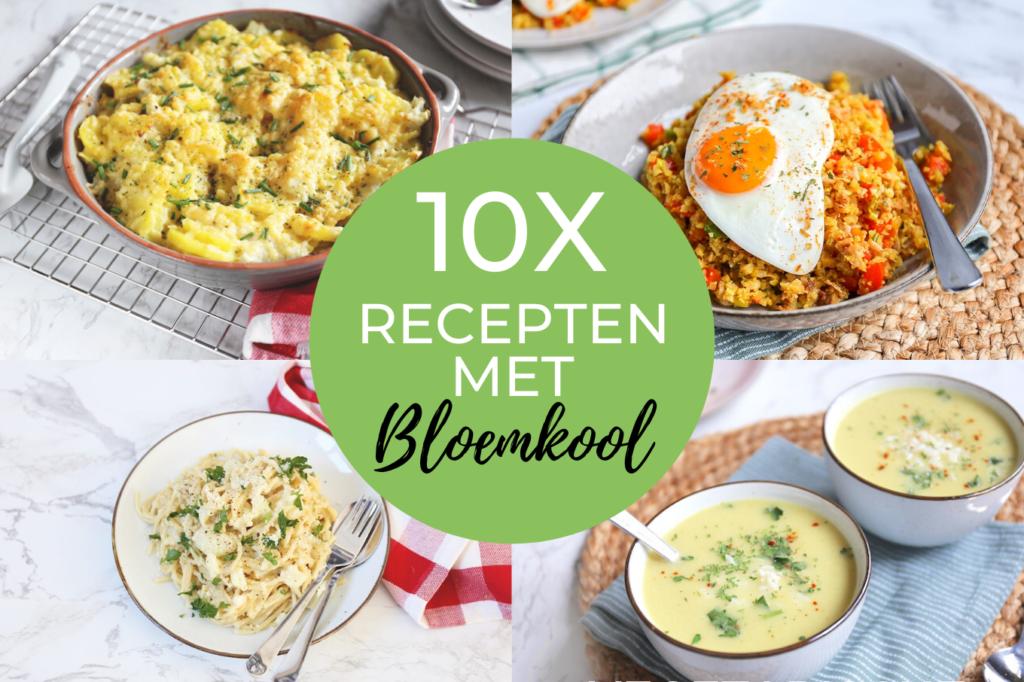 10x recepten met bloemkool