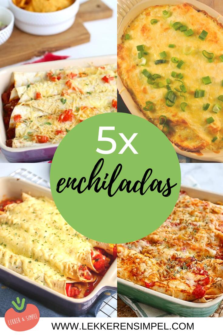5x enchiladas