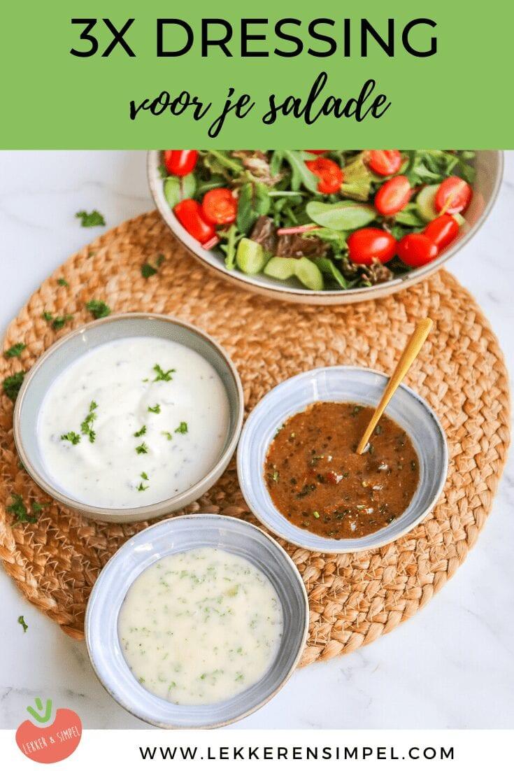 dressing voor salade
