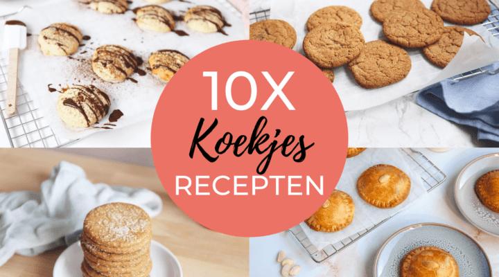 10x koekjes recepten