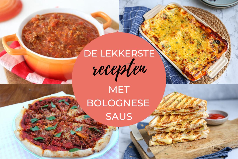 Wat te doen met bolognese saus?