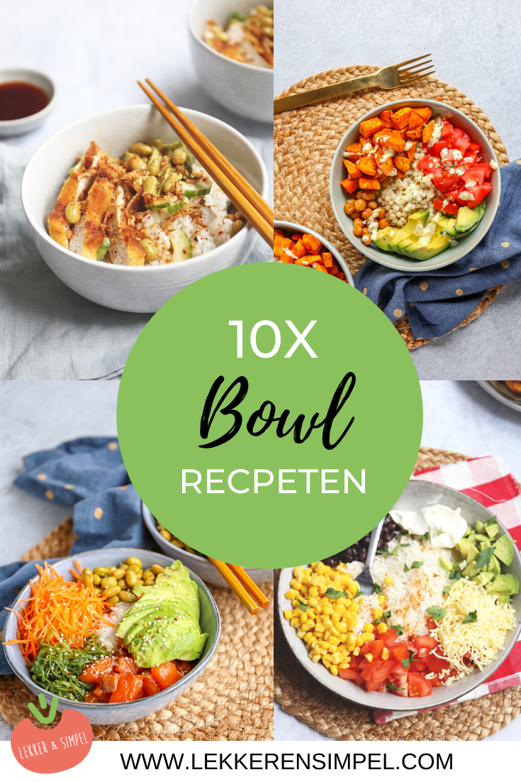 10x bowl recepten