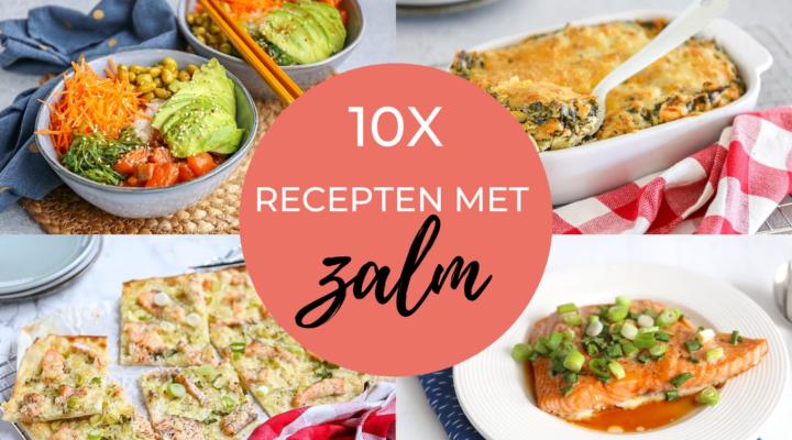 10x recepten met zalm