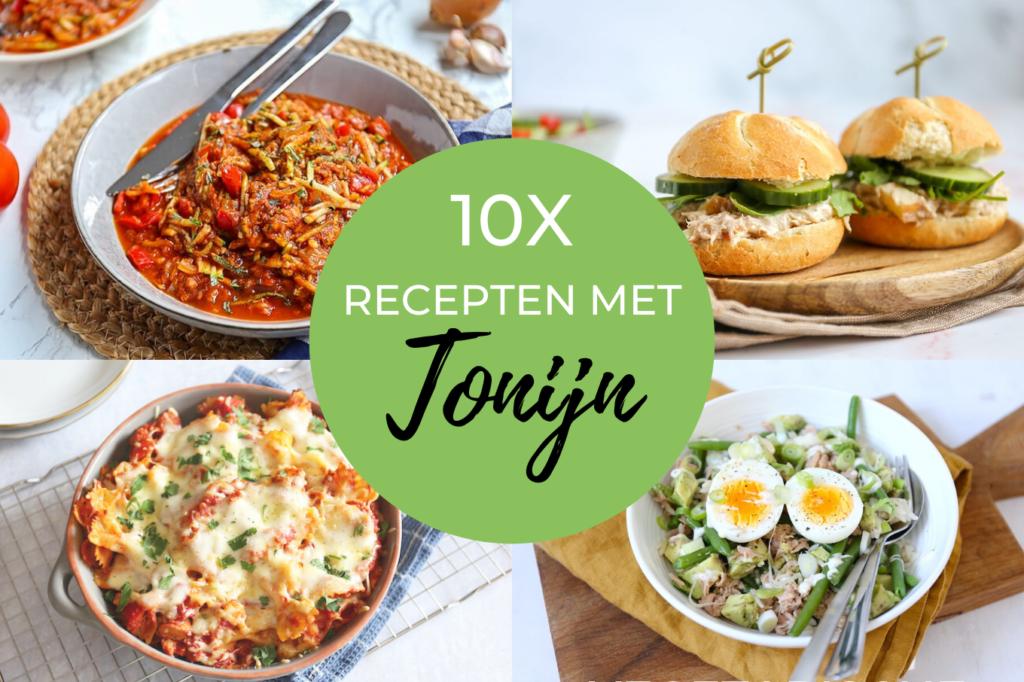 10x recepten met tonijn
