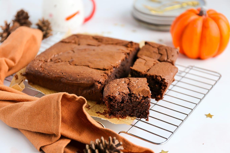 pompoen brownie