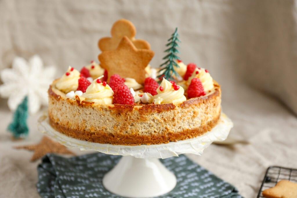 Kerst cheesecake