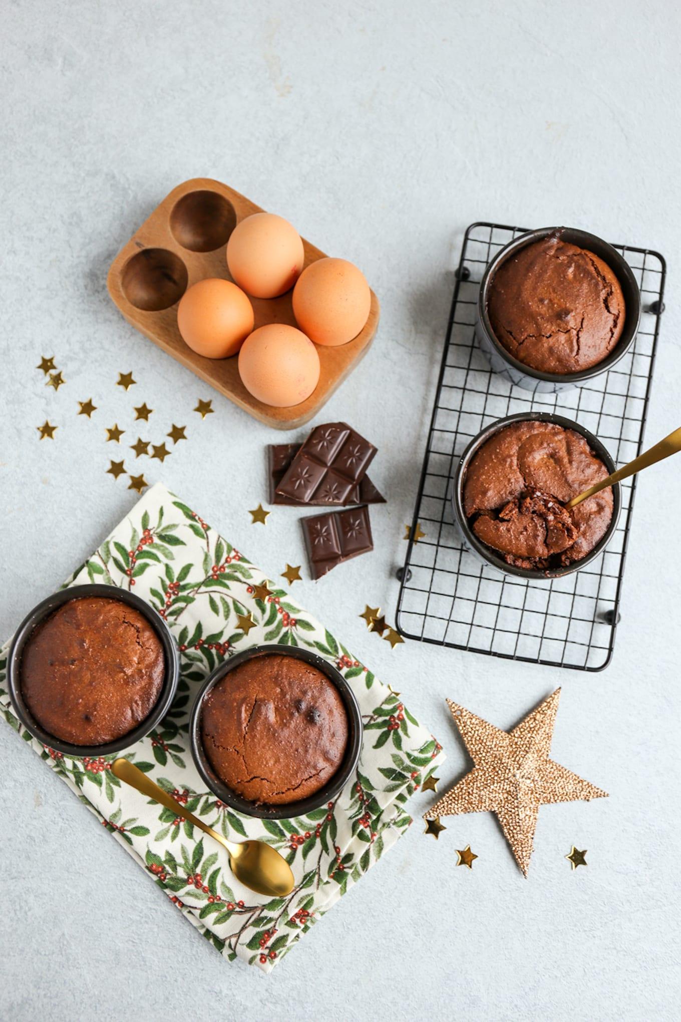 karamel lava cakejes