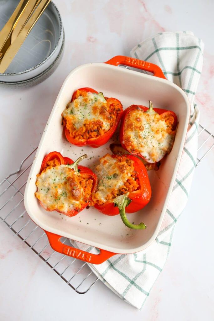 Italiaanse gevulde paprika