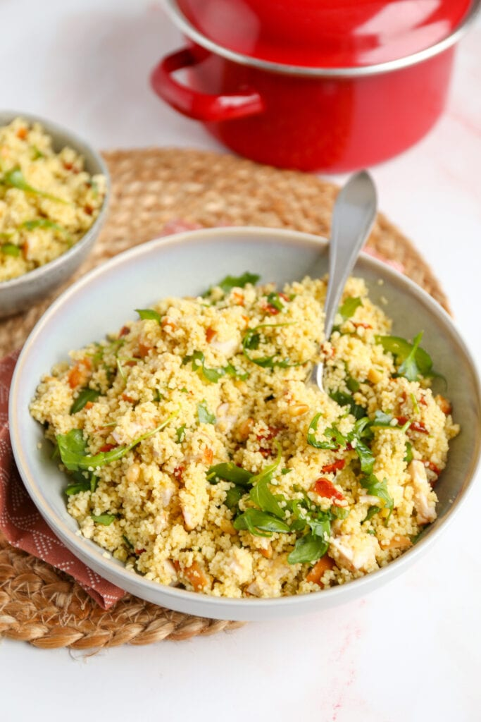 kip pesto couscous