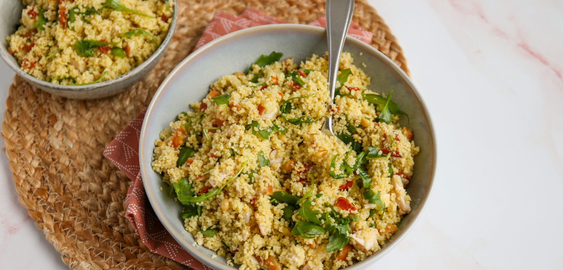 couscous kip pesto
