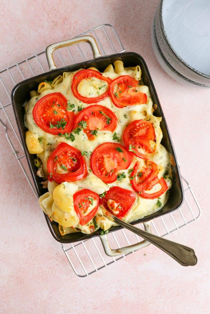 macaroni ovenschotel met kaassaus