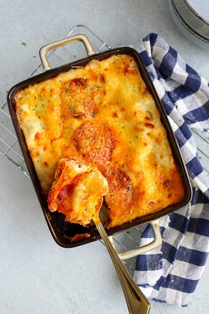 lasagne met pepperoni