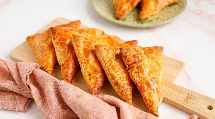 burrito hapjes van bladerdeeg