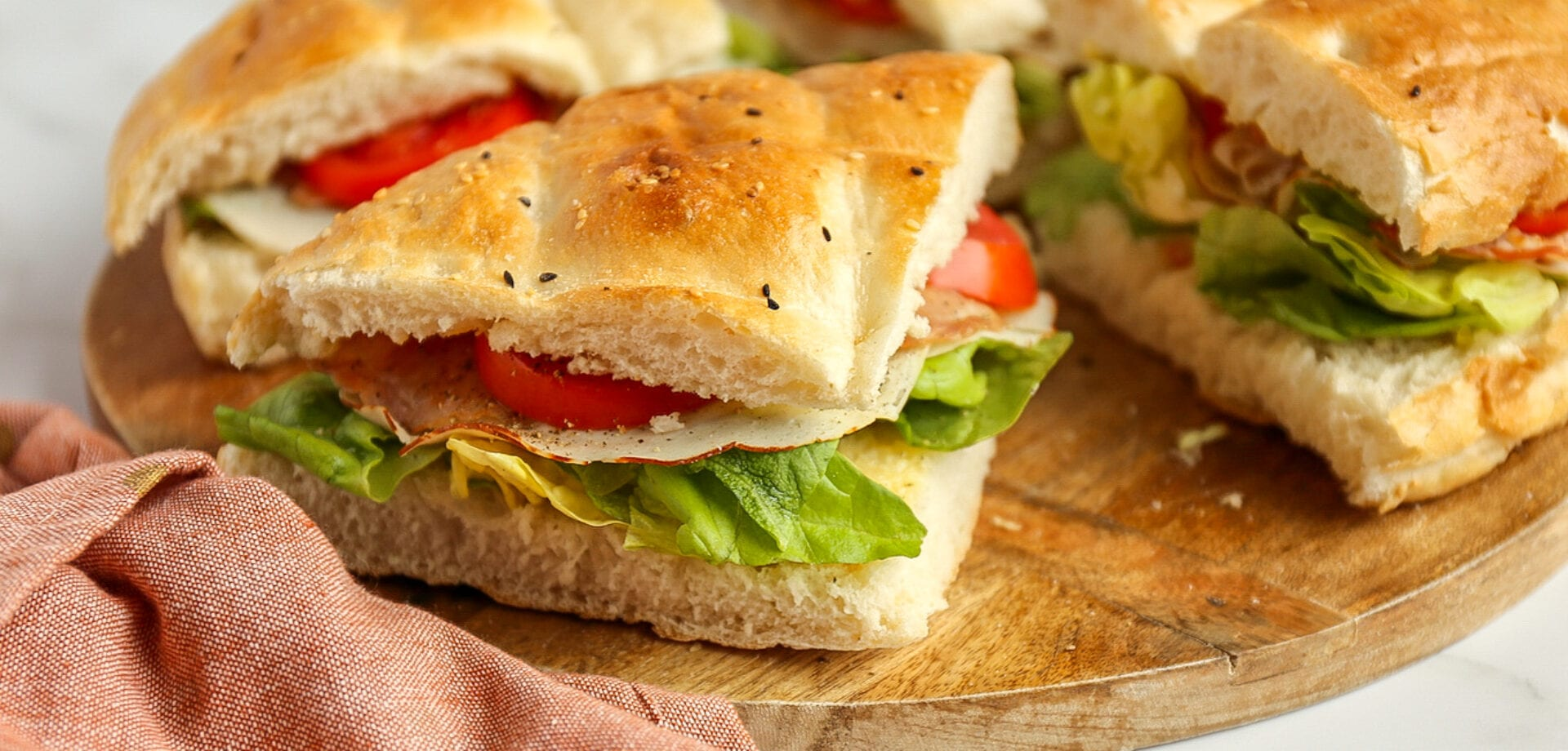 Turks brood club sandwich