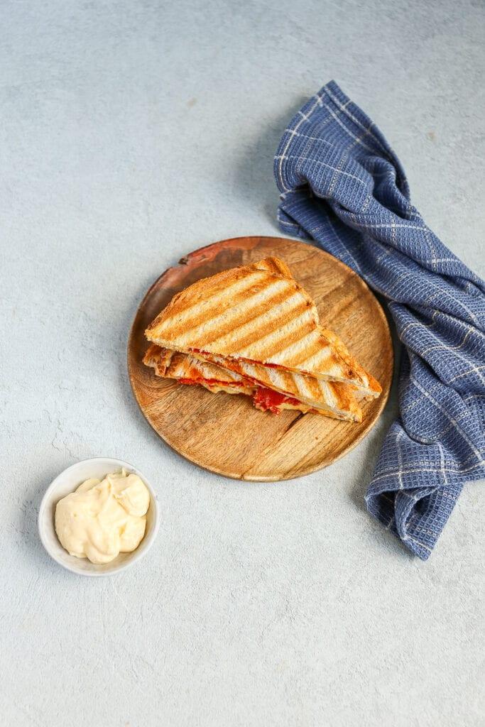 Spaanse tosti met chorizo