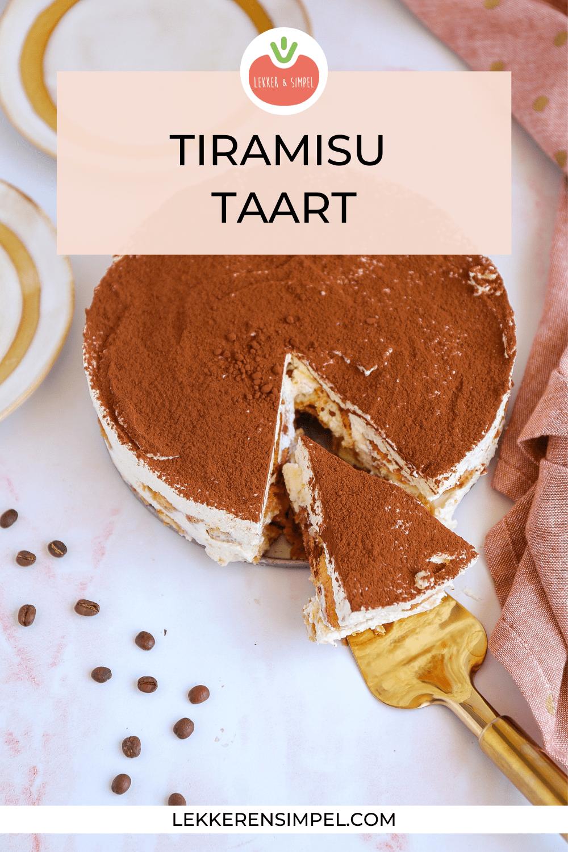 TIRAMISU TAART (ZONDER ALCOHOL)